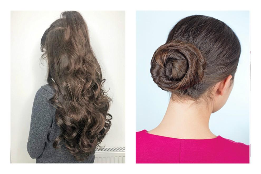Des cheveux en désordre pour épater les cheveux en 5 minutes!