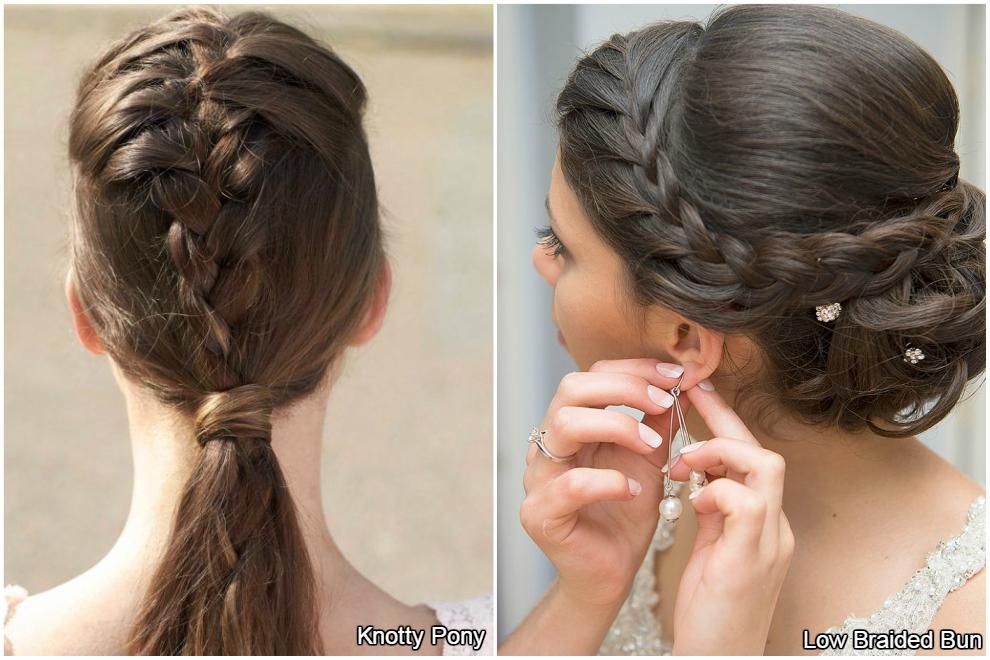 Tendances capillaires de mariée sur mesure - Cheveux